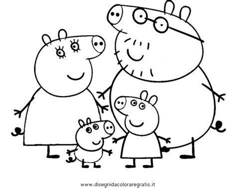Peppa Pig Swimming Coloring Page | coloring peppa pages pig swimming coloring pages