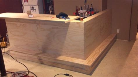 how to build basement bar plans diy homelk com basement bar build page 2 home brew forums dry bar
