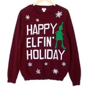 ariana grande santa tell me happy elfin holiday ugly