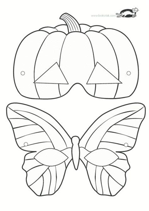 printable halloween mask cutouts 711 best mask images on pinterest birthdays free