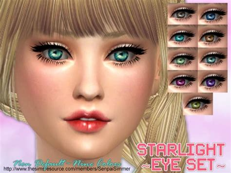 sims 4 updates sims finds sims must haves free sims senpaisimmer s starlight eye set sims 4 updates sims