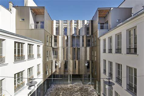 gallery of 58 social housing in antibes atelier pirollet gallery of 25 rue michel le comte social housing atelier