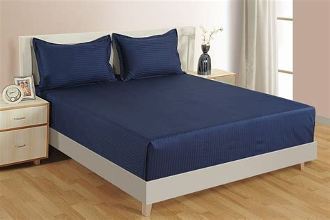 navy blue bed sheets navy blue color high tread count bed sheets online