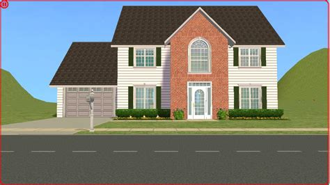 2 family house sims 2 lot downloads 4 bedroom family house