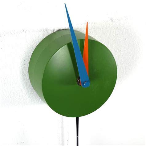 Colorful Clock Green colorful pendulum clock halligalli green multicoloured