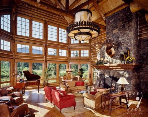 stunning luxury log home interiors 28 images luxury log