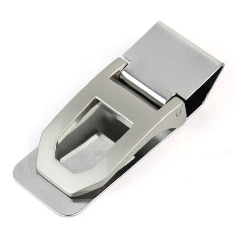 Money Clip Slim Clip Stainless Steel practical slim stainless steel money clip id credit card holder mens wallet for 4 79