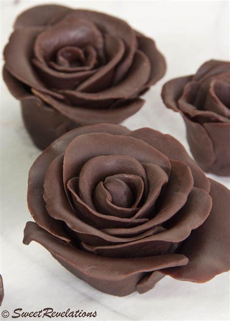 dark chocolate roses chocolate roses modeling chocolate and chocolate