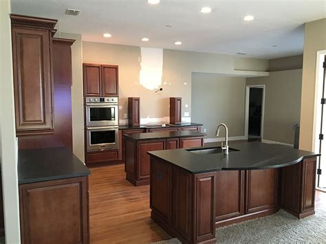Black Leather Granite Kitchen black leather granite countertops