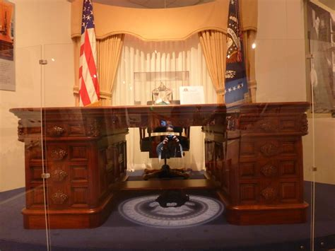 presidential desk in oval office exploring southern california naval history at the queen