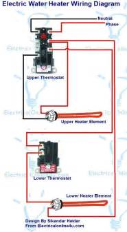 electric water heater wiring with diagram electrical 4u