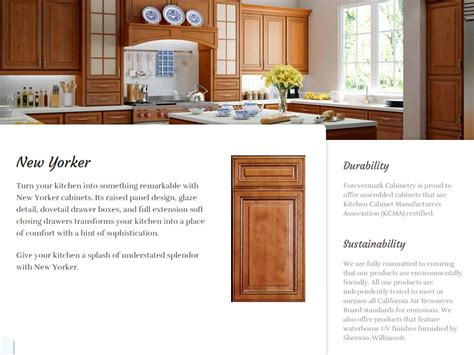 new yorker kitchen cabinets nh kitchen cabinets forevermark starting at 24 99 per sf