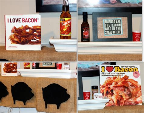 bacon themed decorations invite and delight everything is better with bacon