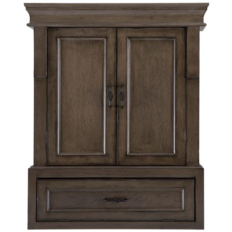 home decorators collection naples     bathroom storage wall cabinet  distressed grey