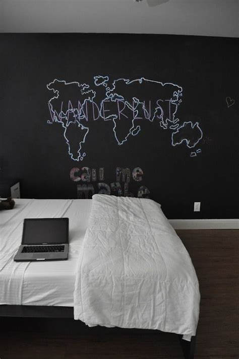 Cool Mural Ideas For Bedroom 25 Amazing Bedroom With Chalkboard Wall Godfather Style
