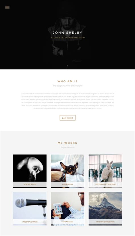 one page html5 template free 31 html5 website themes templates free premium