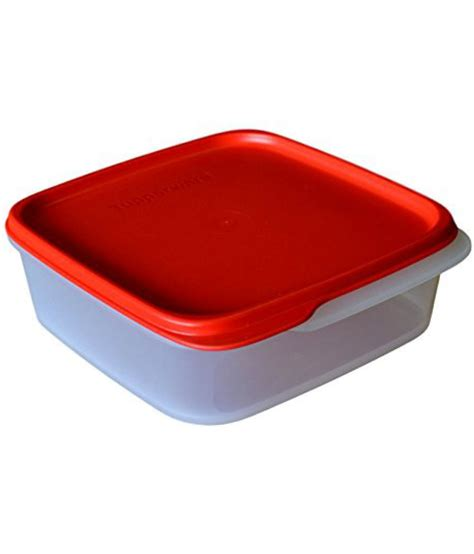 Tupperware Crispy Storer 1 tupperware square smart storer 1 1 1 l available at snapdeal for rs 309