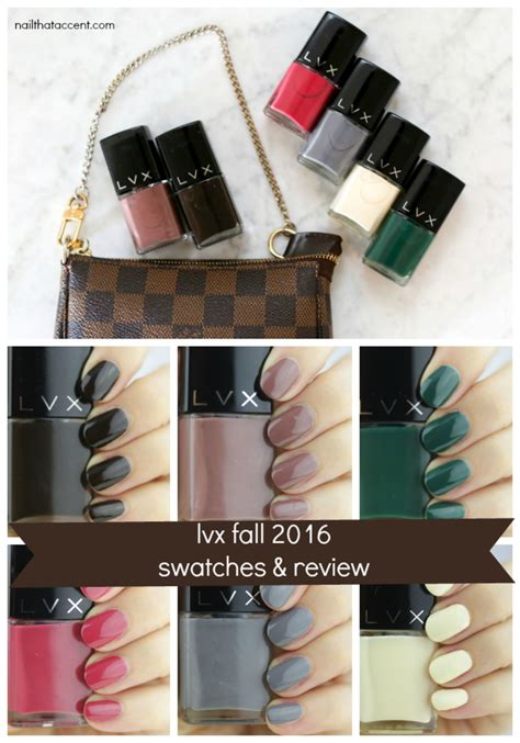 lvx nail polish luxury 7 toxin free cruelty free step into fall with lvx fall 2016 nail that accent