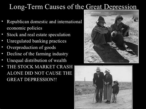 Causes Of The Great Depression Essay by Cause And Effect Of The Great Depression Essay Recession Comparison The Great Depression