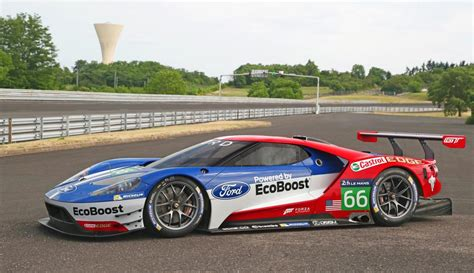ford racing car ford gt lm gte pro race car unveiled for 2016 le mans