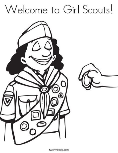50 Best Images About Girl Scout Coloring Pages On Brownie Scout Coloring Pages Free
