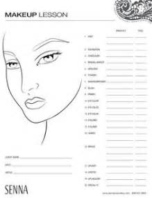makeup charts template how to apply makeup worksheets mugeek vidalondon