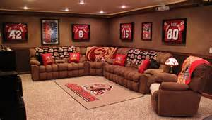 Sports Home Decor by Best Man Cave Theme Ideas Part 1 Dudeliving