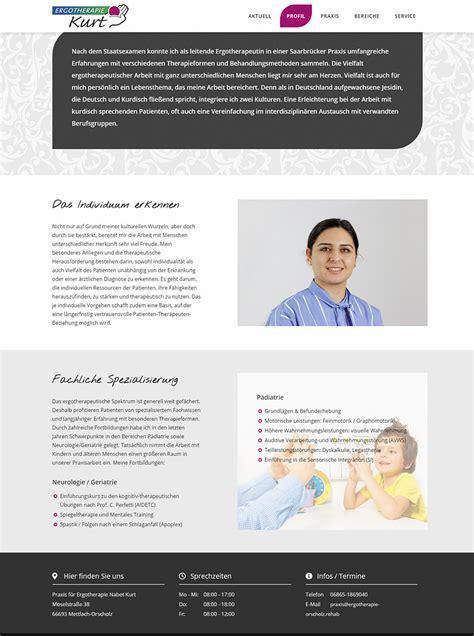 ergotherapie orscholz webdesign merzig losheim dillingen