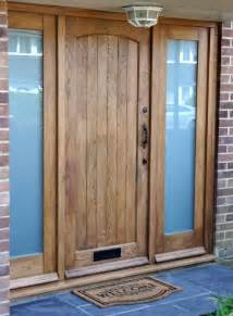 Oak External Front Doors Cottage External Solid Oak Door External Doors