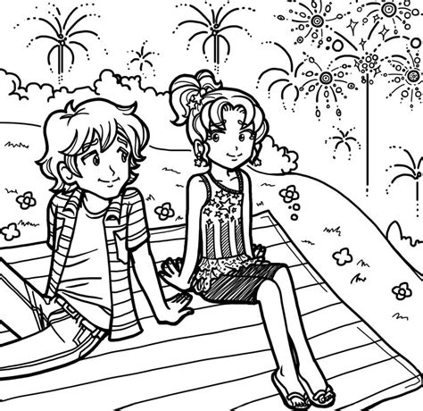 free coloring pages of dork diaries