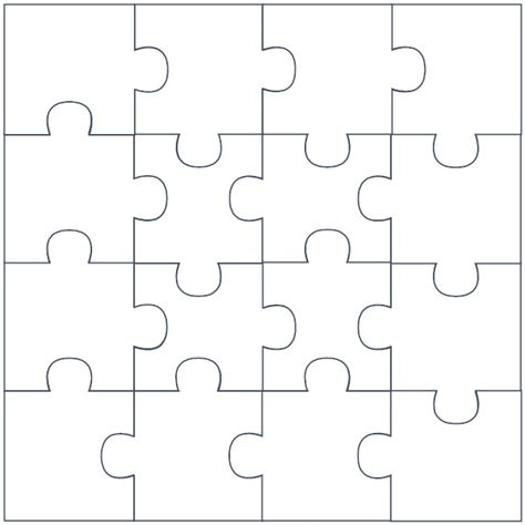large puzzle template puzzle template cliparts co