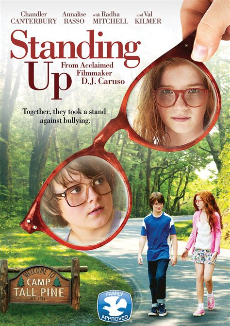 standing up quot standing up quot is a touching coming of age based on novel