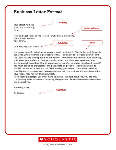 spacing in business letter best photos of sle business letter format spacing