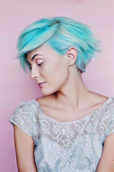 short wheat colored hair pixie cut pastel colored pixie cuts that prove fairy hair is better