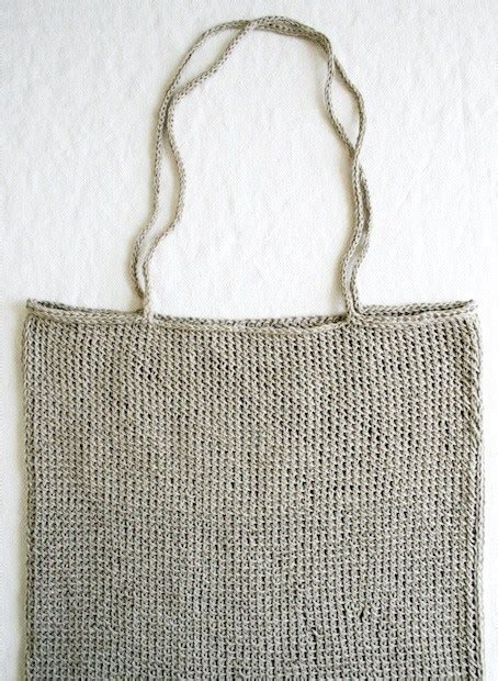 easy tote bag pattern knitting how to simple knit tote bag make