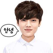 Exo Sehun 94s Transparent Sticker exo luhan special line sticker rumors city