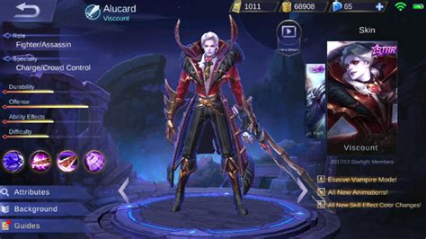 Kaos Mobile Legend Of Allucard Skin complete guide mobile legends alucard