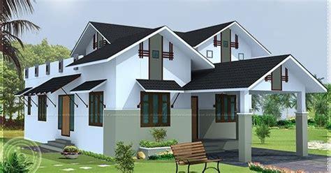 2490 sq ft sloped roof single floor home design veeduonline sloping roof single floor house home kerala plans