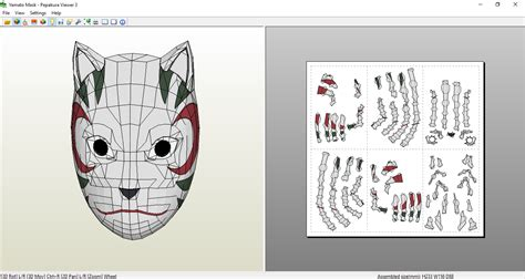 Anbu Mask Papercraft - yamato mask papercraft by sibor270898 on deviantart