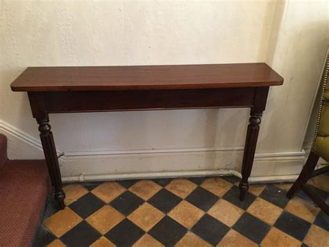 slim hallway console table slim hall table or console table antiques atlas
