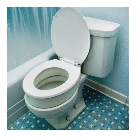 essential medical standard raised toilet seat walmartcom