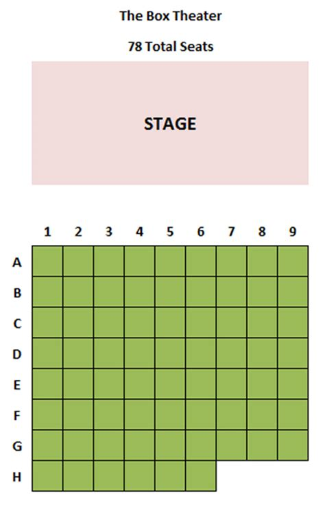 box seating chart stage 773 box theater seating chart theatre in chicago