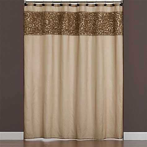 ruffle shower curtain bed bath and beyond ruffle border fabric shower curtain bed bath beyond