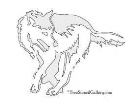 Wolf Stencil Template by Image Gallery Wolf Stencil