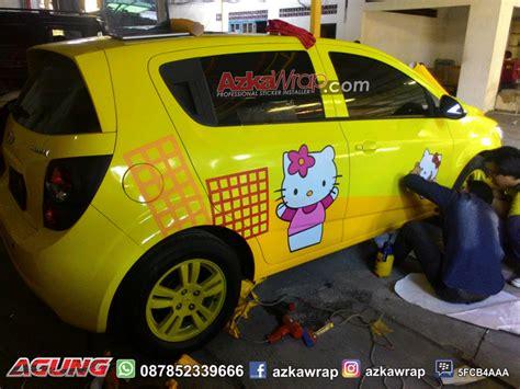 jasa pasang cutting sticker mobil surabaya azkawrap