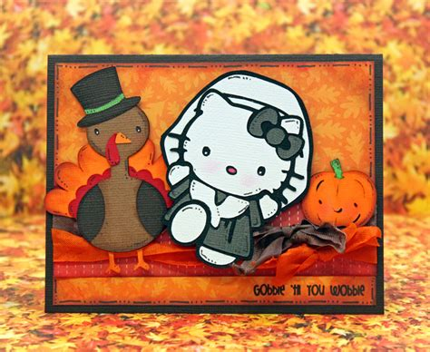 hello kitty thanksgiving wallpaper pretty paper pretty ribbons hello kitty and friends blog hop