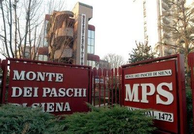 ufficio legale monte dei paschi di siena mps perquisita la nomura a tuttonews