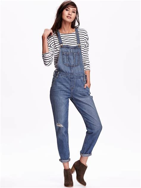 Overall By Navy navy denim overalls