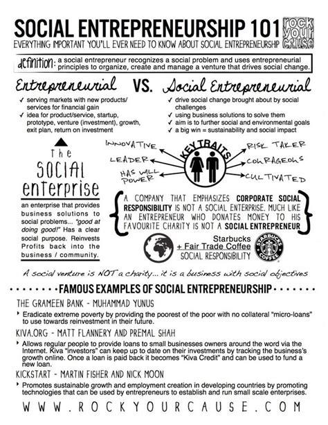 Mba Entrepreneurship Meaning by Best 25 Social Enterprise Ideas On Digital
