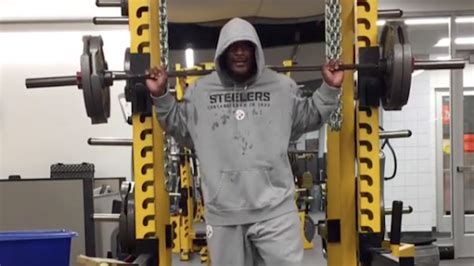 james harrison bench press the reason why james harrison wears the same gray